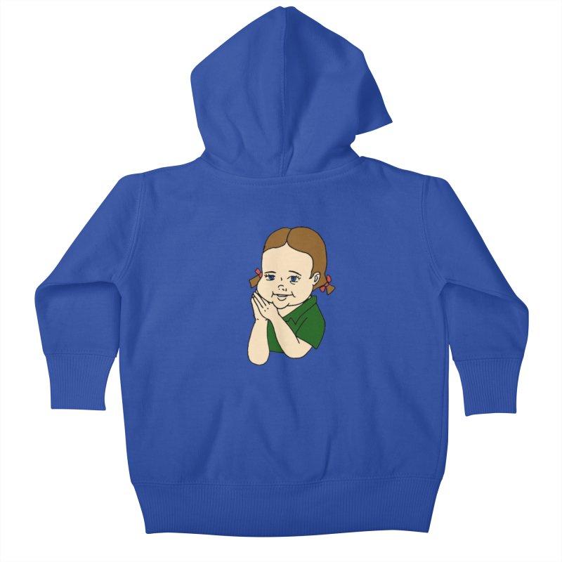 Kids Show Kids Baby Zip-Up Hoody by Jim Tozzi