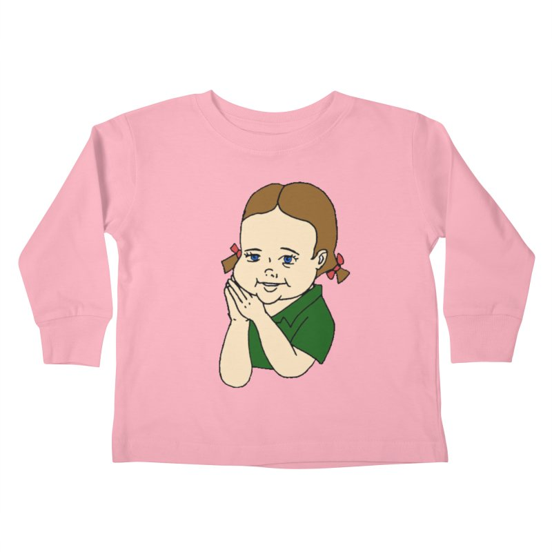 Kids Show Kids Toddler Longsleeve T-Shirt by Jim Tozzi