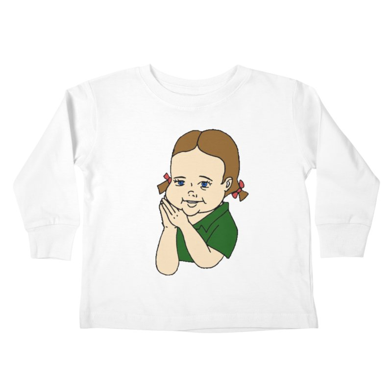 Kids Show Kids Toddler Longsleeve T-Shirt by Jim Tozzi