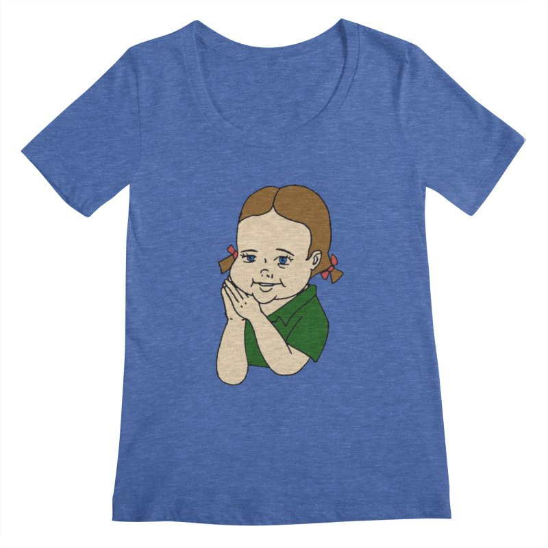 Kids Show Women's Regular Scoop Neck by Jim Tozzi