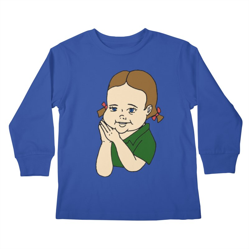 Kids Show Kids Longsleeve T-Shirt by Jim Tozzi