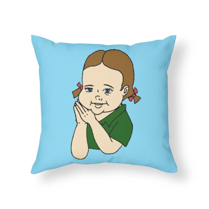 Kids Show Home Throw Pillow by Jim Tozzi
