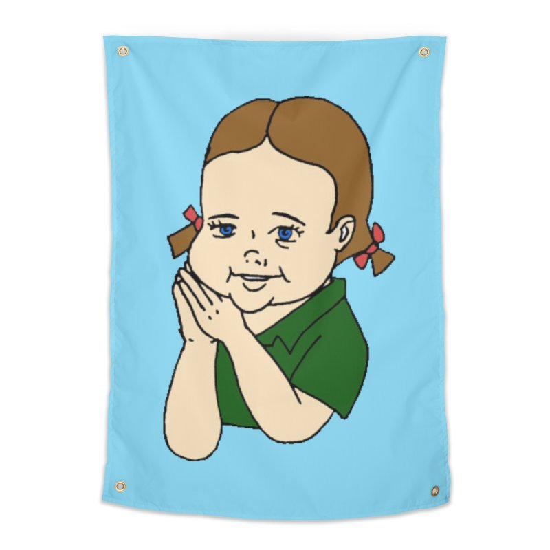 Kids Show Home Tapestry by Jim Tozzi