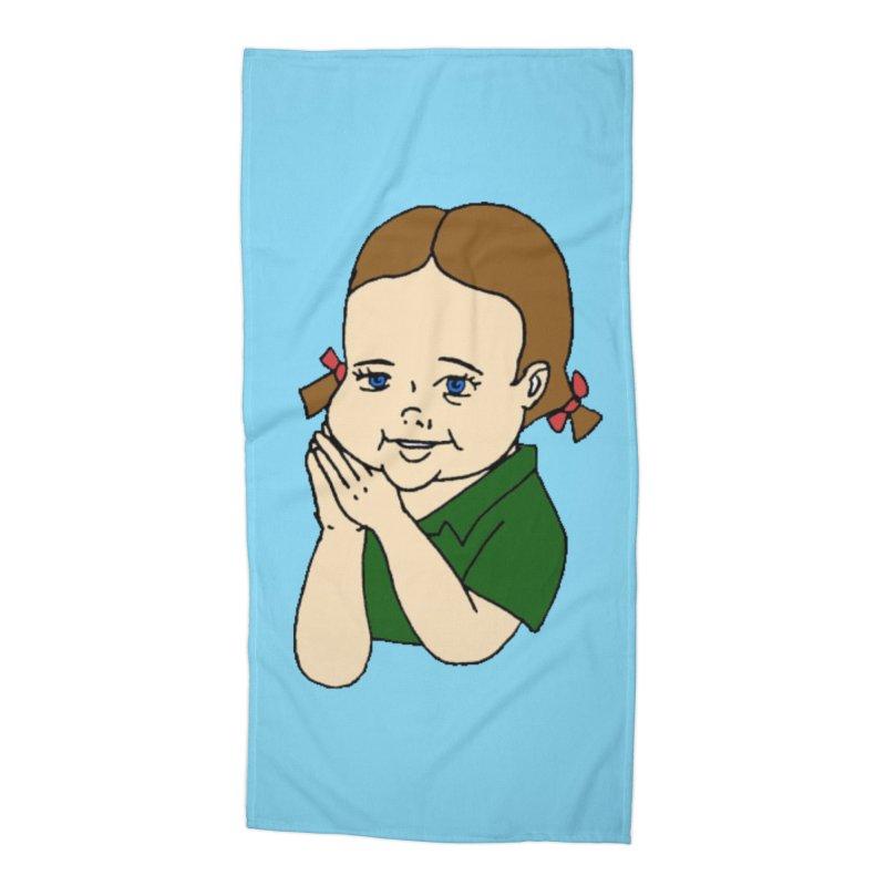 Kids Show Accessories Beach Towel by Jim Tozzi