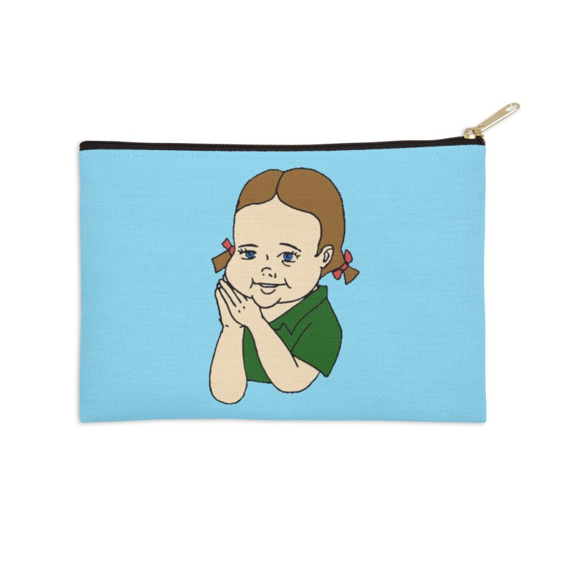 Kids Show Accessories Zip Pouch by Jim Tozzi