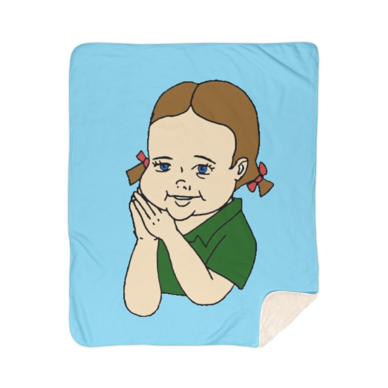 Kids Show Home Sherpa Blanket Blanket by Jim Tozzi