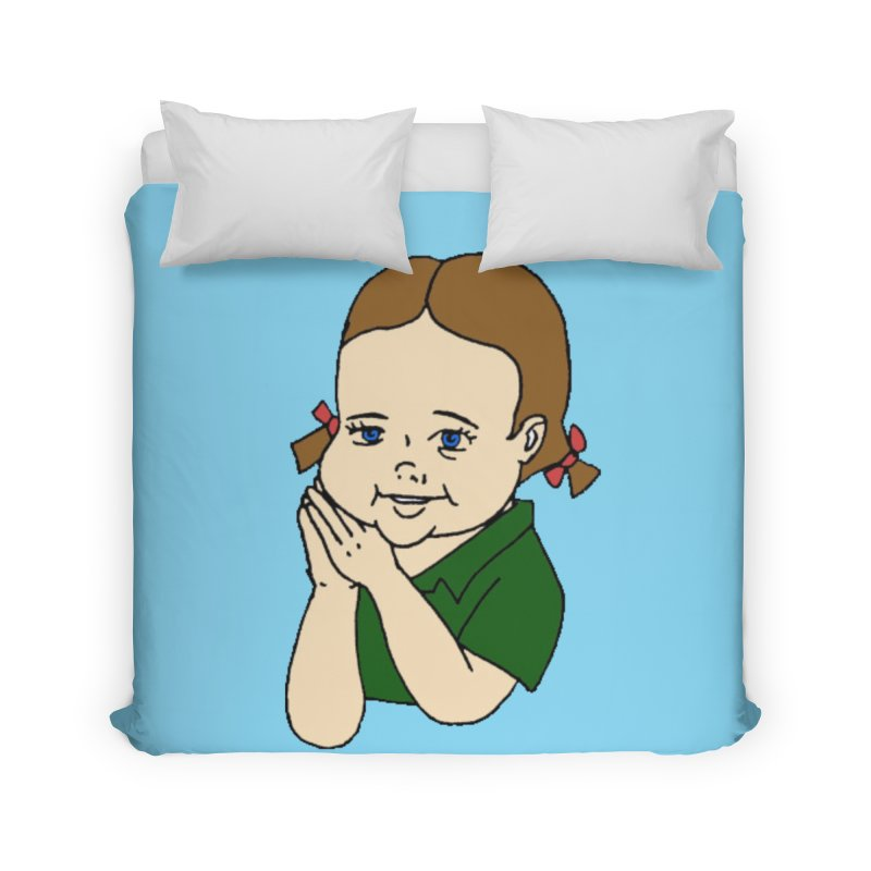 Kids Show Home Duvet by Jim Tozzi