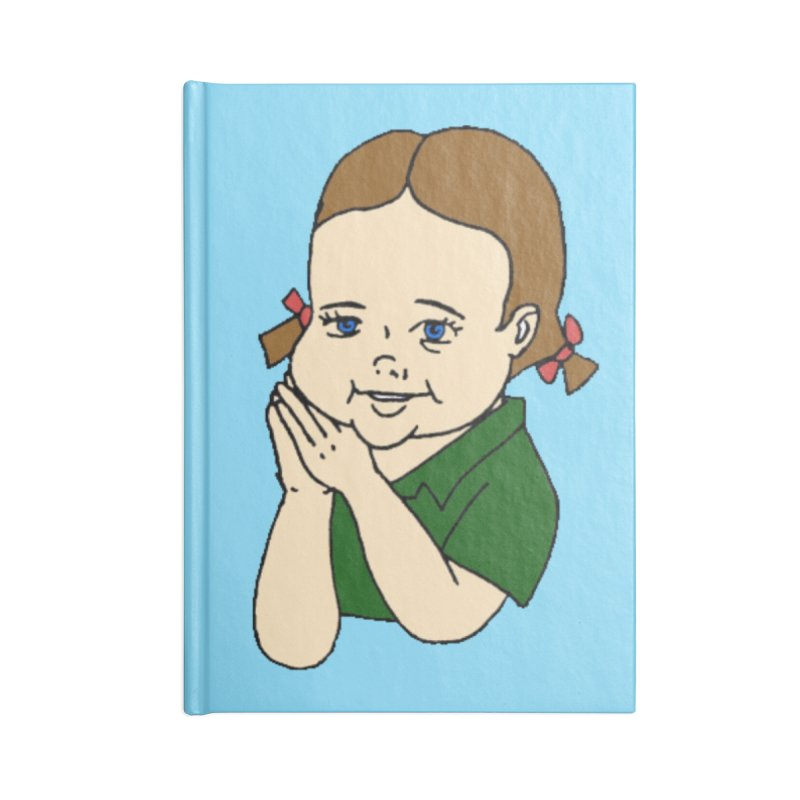 Kids Show Accessories Blank Journal Notebook by Jim Tozzi