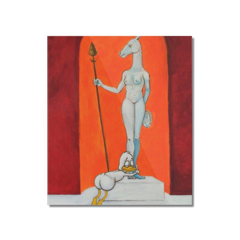 mythos Home Mounted Acrylic Print by Jim Tozzi