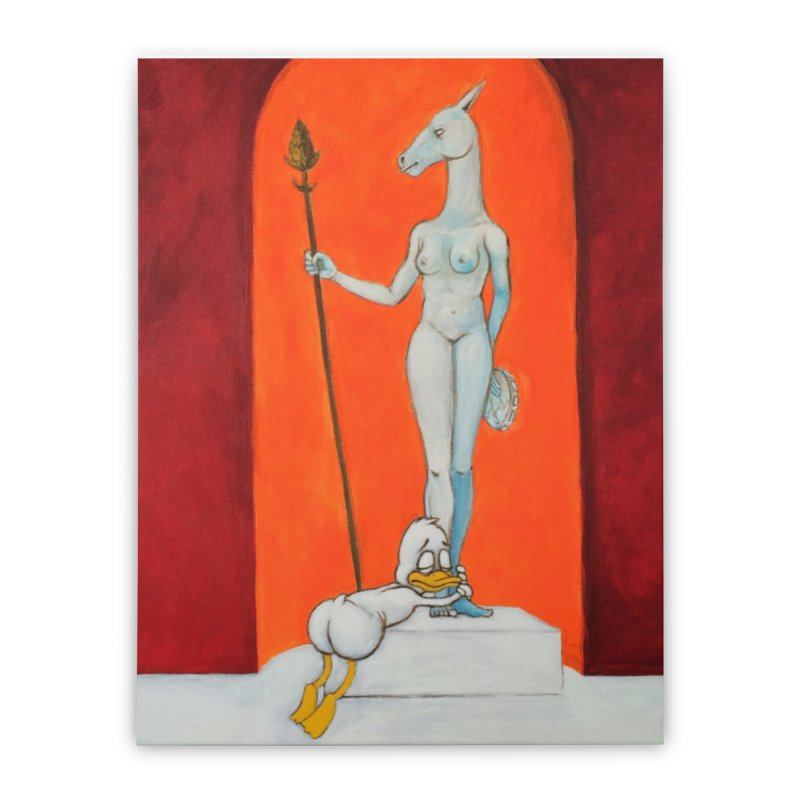 mythos Home Stretched Canvas by Jim Tozzi