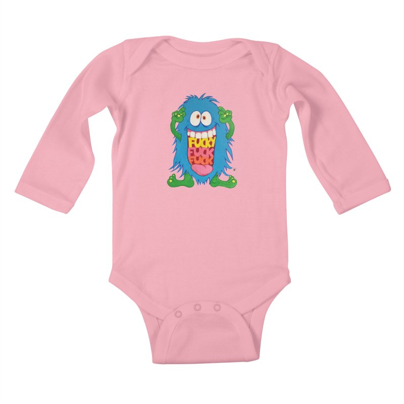 EffyFF Kids Baby Longsleeve Bodysuit by Jim Tozzi