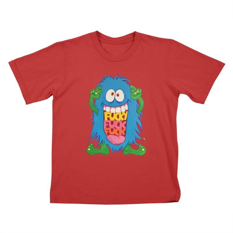 EffyFF Kids T-Shirt by Jim Tozzi