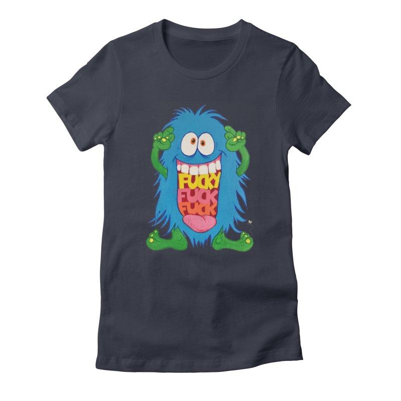 EffyFF Women's Fitted T-Shirt by Jim Tozzi
