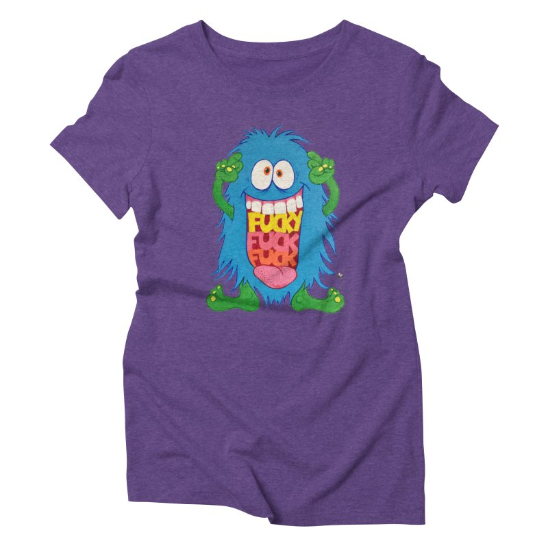 EffyFF Women's Triblend T-Shirt by Jim Tozzi