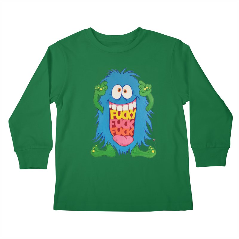 EffyFF Kids Longsleeve T-Shirt by Jim Tozzi