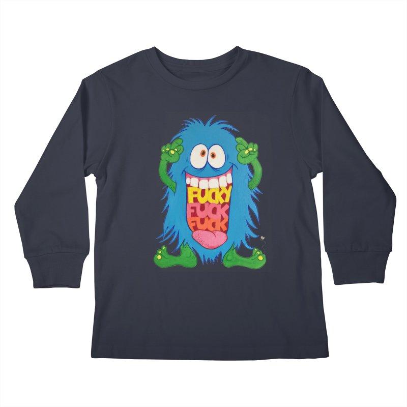 EffyFF Kids Longsleeve T-Shirt by Jim Tozzi