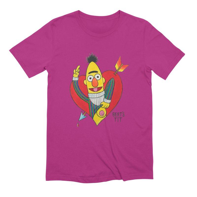 Bert's tit cupid Men's Extra Soft T-Shirt by Jim Tozzi