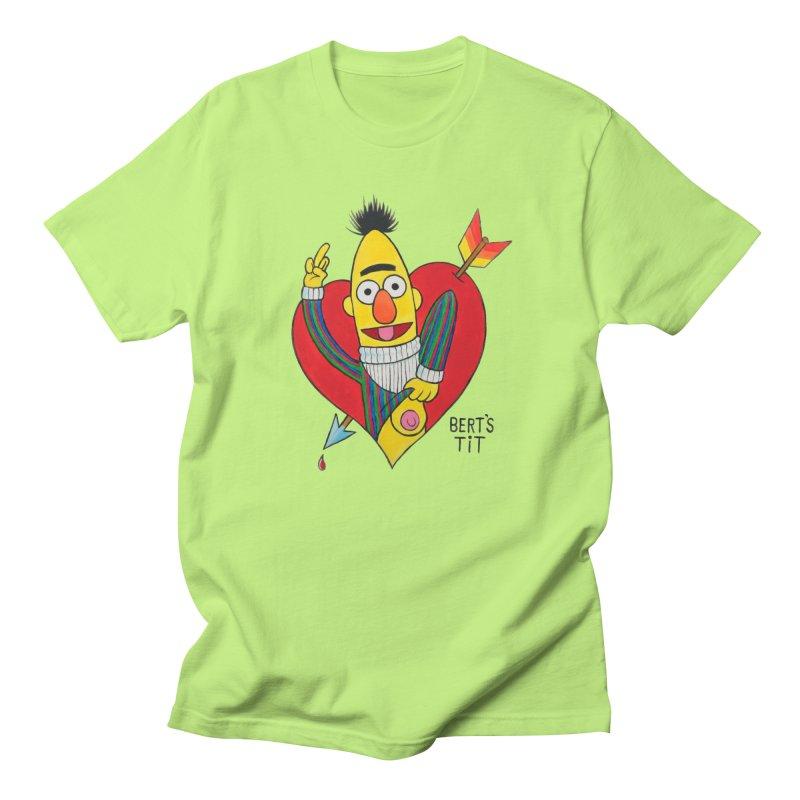 Bert's tit cupid Women's Regular Unisex T-Shirt by Jim Tozzi