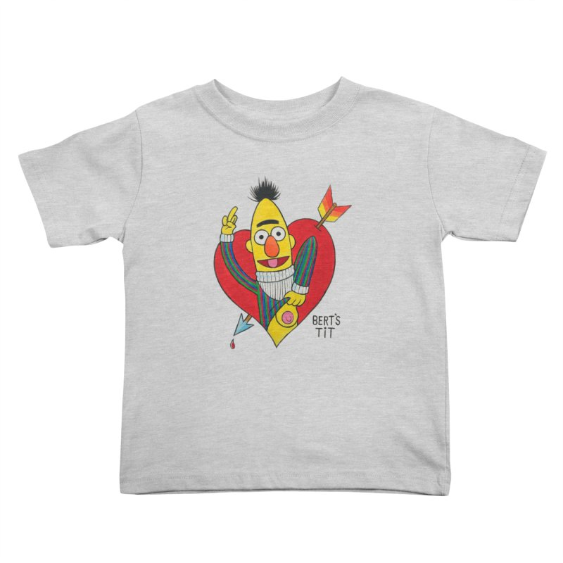 Bert's tit cupid Kids Toddler T-Shirt by Jim Tozzi