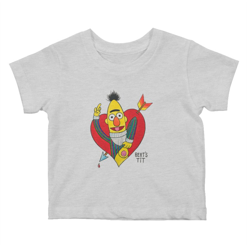 Bert's tit cupid Kids Baby T-Shirt by Jim Tozzi