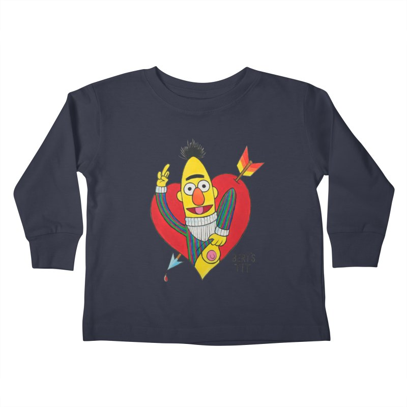 Bert's tit cupid Kids Toddler Longsleeve T-Shirt by Jim Tozzi