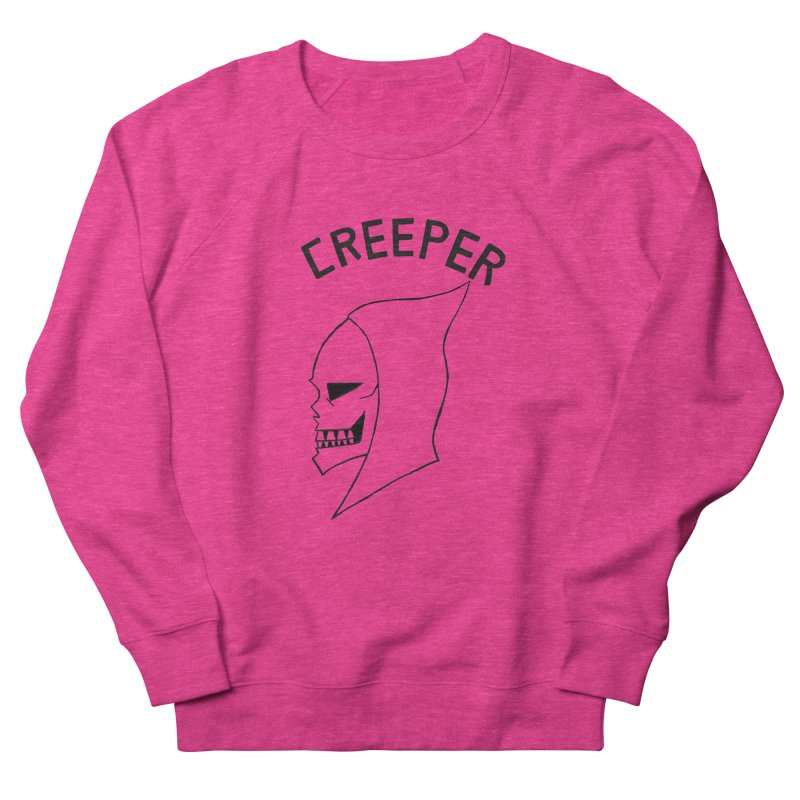 CREEPER Women's Sweatshirt by Jim Tozzi