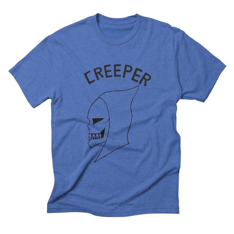 CREEPER Men's Triblend T-shirt by Jim Tozzi