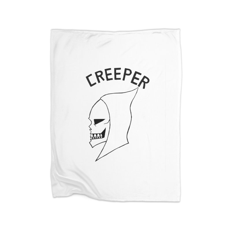 CREEPER Home Blanket by Jim Tozzi