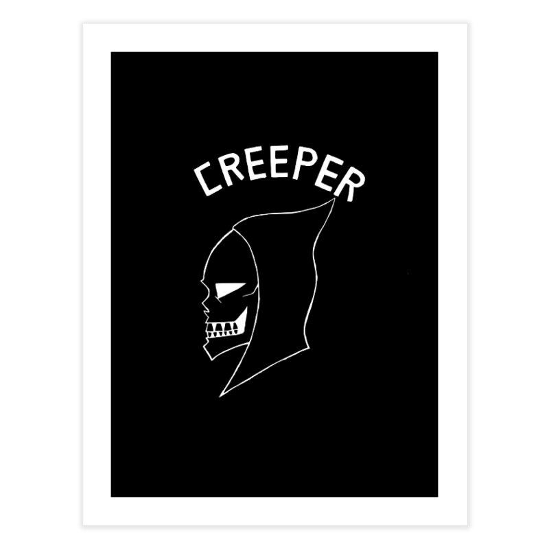 creeper invert Home Fine Art Print by Jim Tozzi