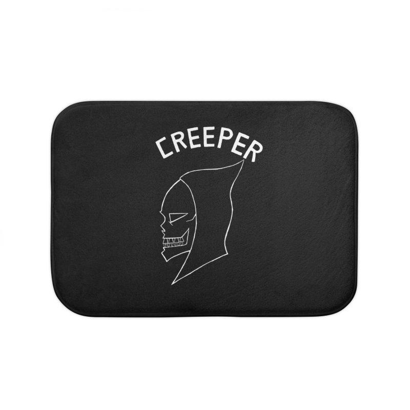 creeper invert Home Bath Mat by Jim Tozzi
