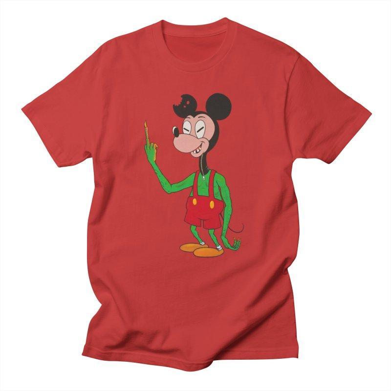 flippin mouse Men's T-Shirt by Jim Tozzi