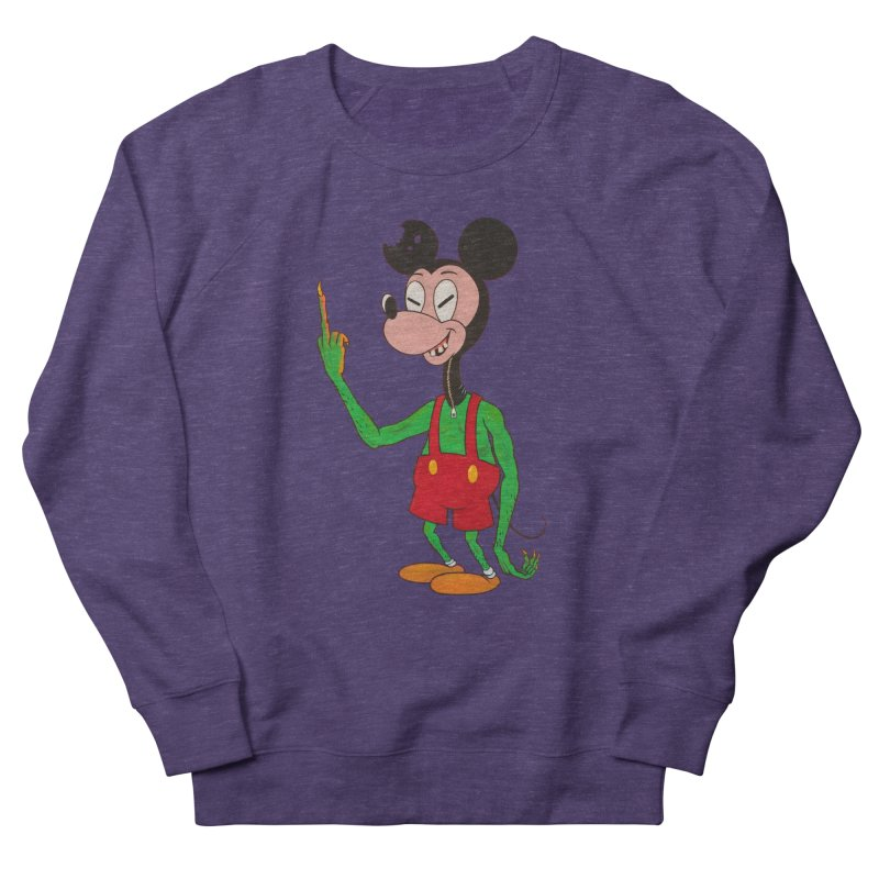 flippin mouse Women's Sweatshirt by Jim Tozzi