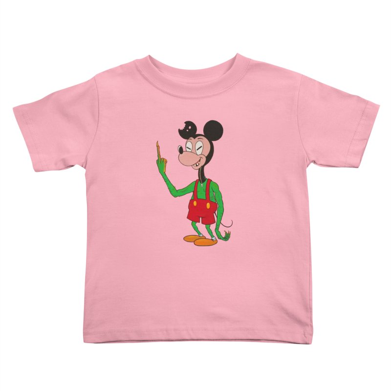 flippin mouse Kids Toddler T-Shirt by Jim Tozzi