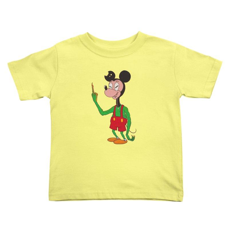 flippin mouse Kids Toddler T-Shirt by Jim Tozzi