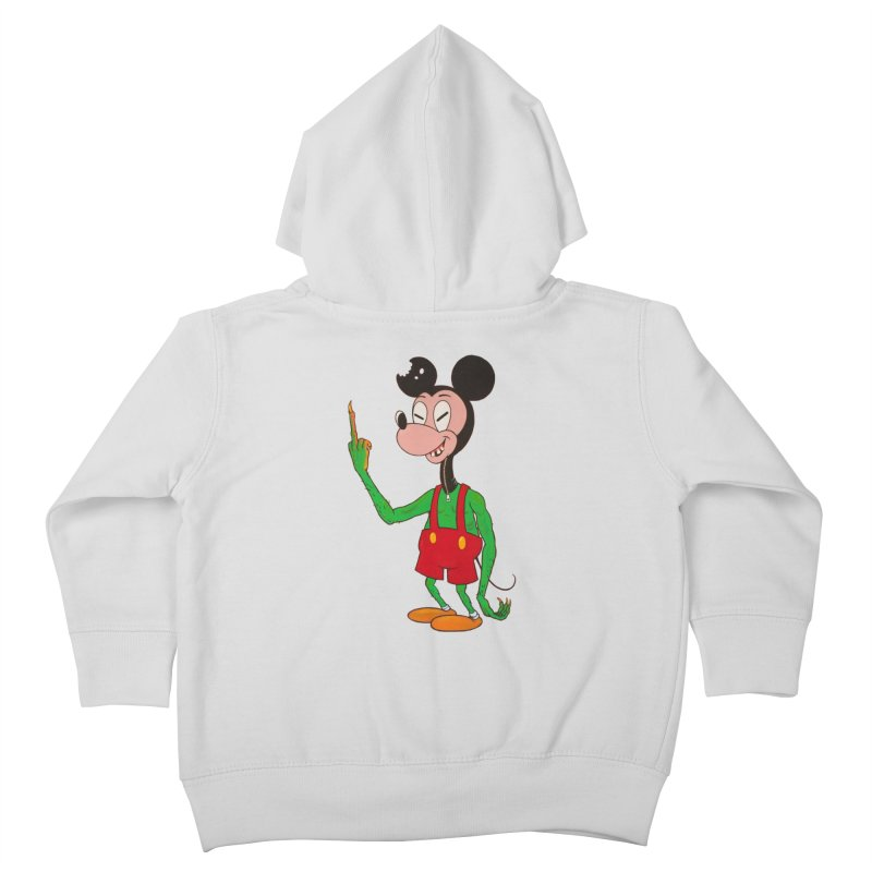 flippin mouse Kids Toddler Zip-Up Hoody by Jim Tozzi