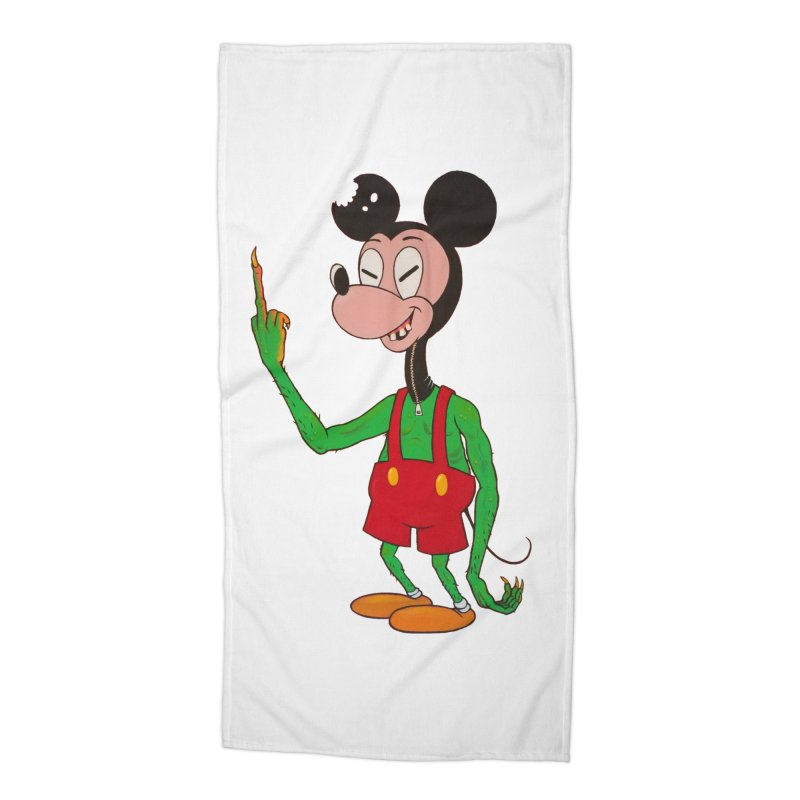 flippin mouse Accessories Beach Towel by Jim Tozzi