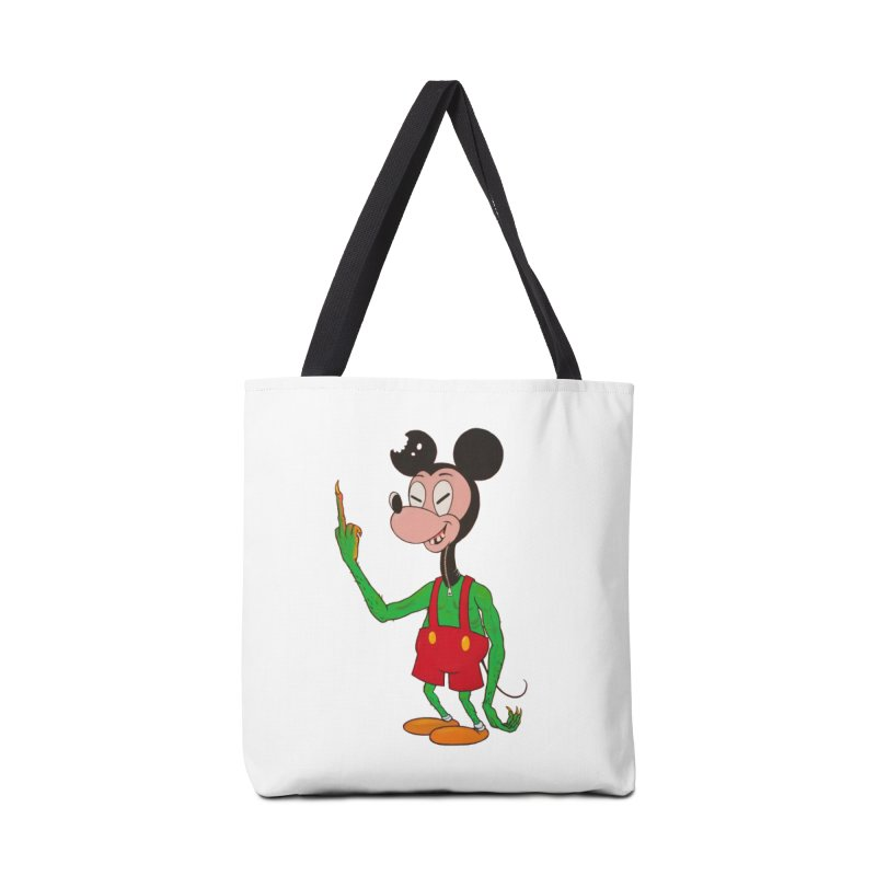 flippin mouse Accessories Bag by Jim Tozzi