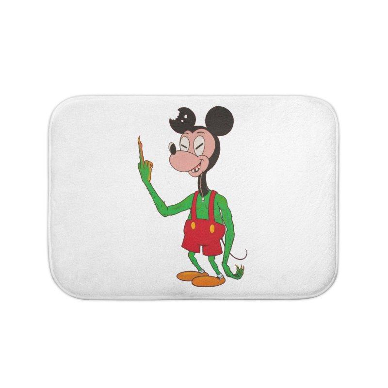 flippin mouse Home Bath Mat by Jim Tozzi