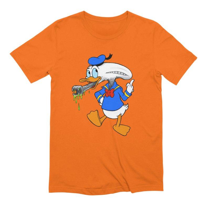 ALIENDUCK Men's Extra Soft T-Shirt by Jim Tozzi