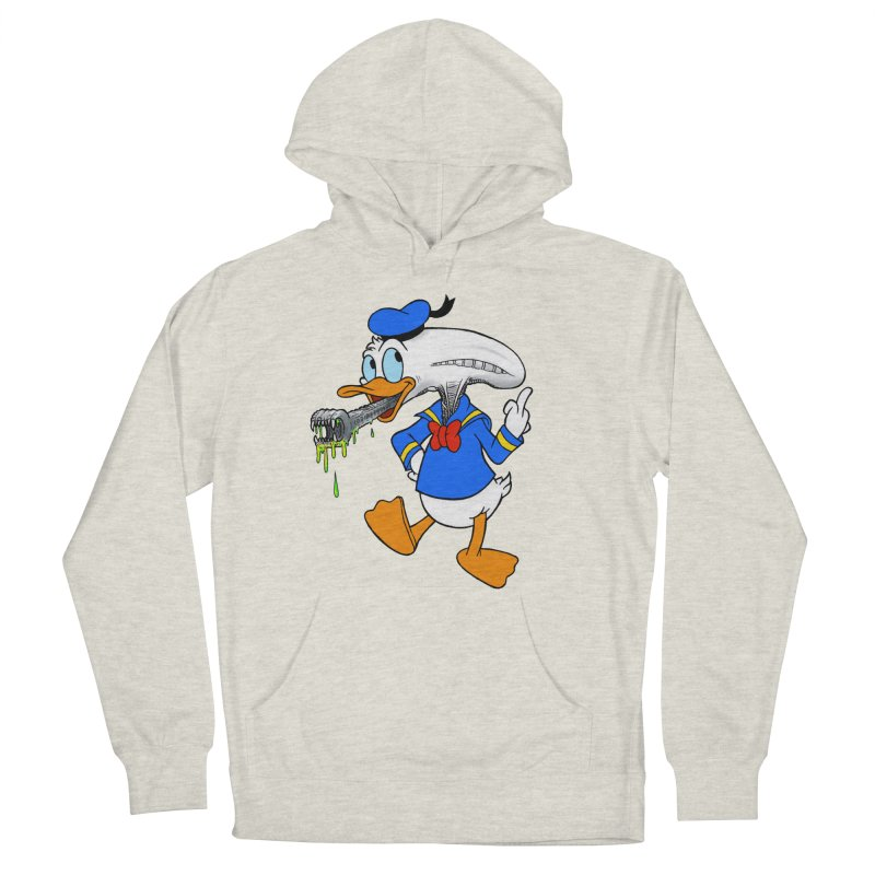 ALIENDUCK Women's French Terry Pullover Hoody by Jim Tozzi