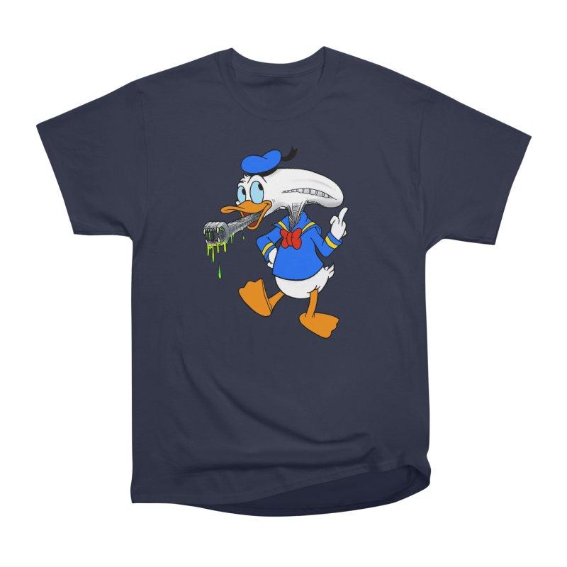 ALIENDUCK Men's Heavyweight T-Shirt by Jim Tozzi