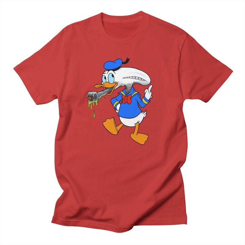 ALIENDUCK Men's Regular T-Shirt by Jim Tozzi