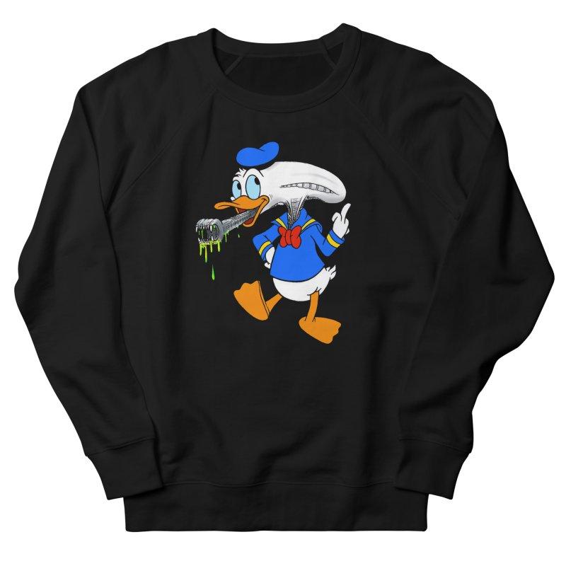 ALIENDUCK Women's French Terry Sweatshirt by Jim Tozzi