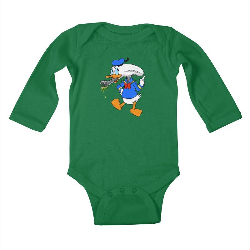 ALIENDUCK Kids Baby Longsleeve Bodysuit by Jim Tozzi