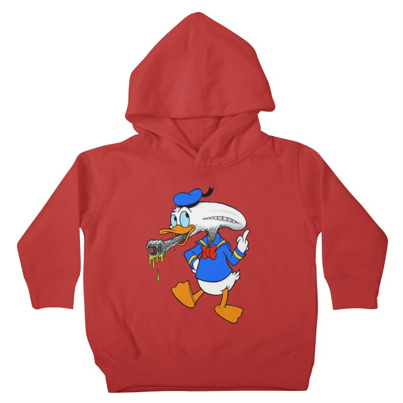 ALIENDUCK Kids Toddler Pullover Hoody by Jim Tozzi