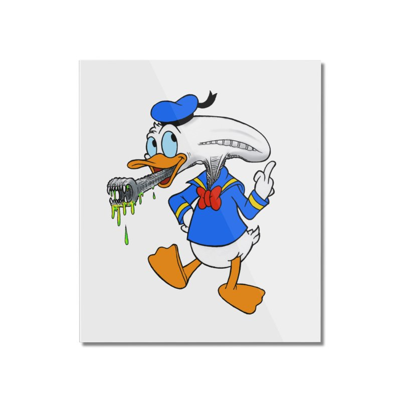 ALIENDUCK Home Mounted Acrylic Print by Jim Tozzi