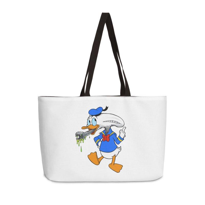 ALIENDUCK Accessories Weekender Bag Bag by Jim Tozzi