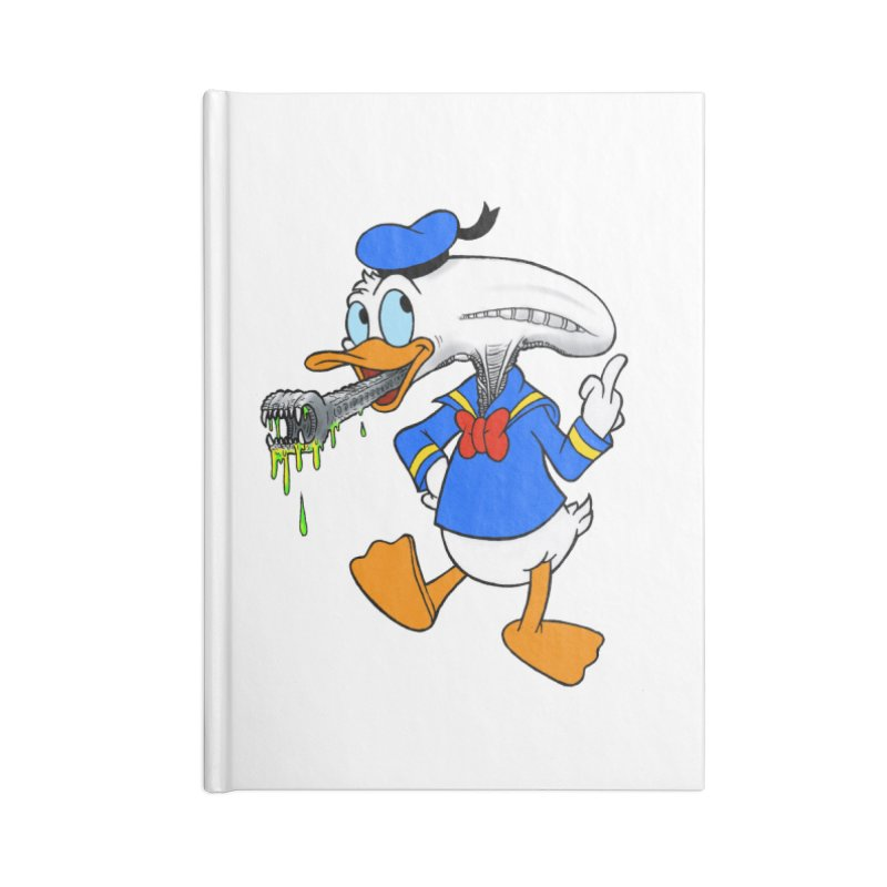 ALIENDUCK Accessories Notebook by Jim Tozzi