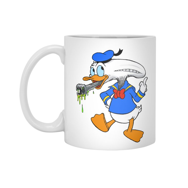 ALIENDUCK Accessories Mug by Jim Tozzi