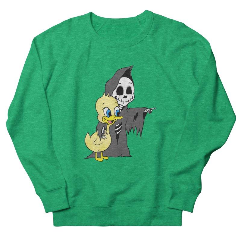 cute death Women's Sweatshirt by Jim Tozzi